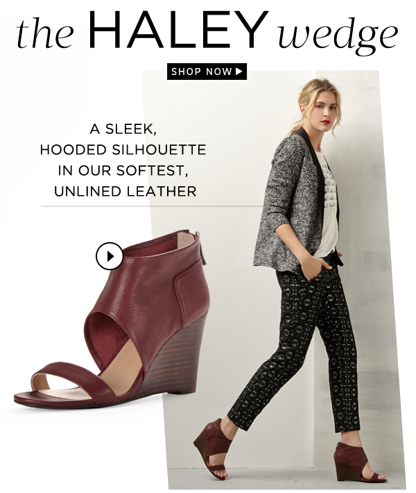 The Haley Wedge: Shop Now