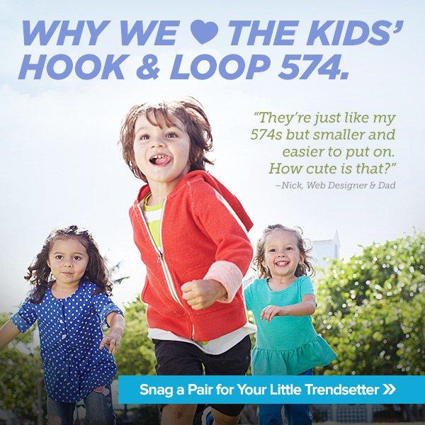 Classic Kicks Just For Kids — Shop Kids' 574