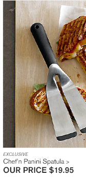 EXCLUSIVE - Chef'n Panini Spatula - OUR PRICE $19.95