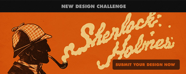 New Challenge : Sherlock Holmes