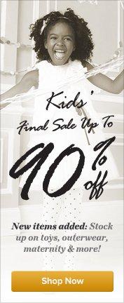 Kid's Final Sale