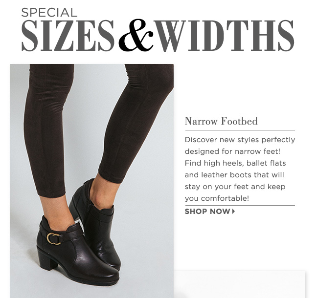 Shop Narrow Shoes