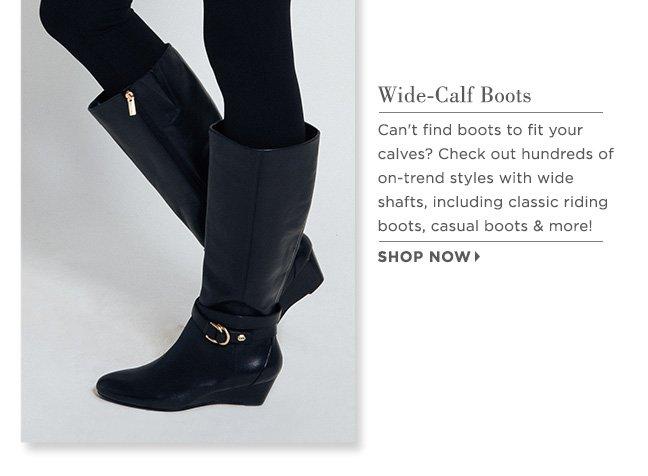 Shop Wide-Calf Boots