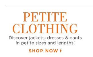 Shop Petite Clothing