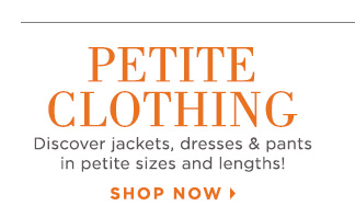 Shop Petite Clothing