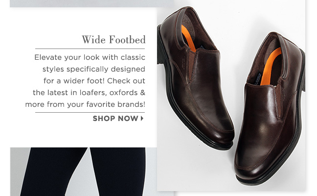 Shop Wide Shoes