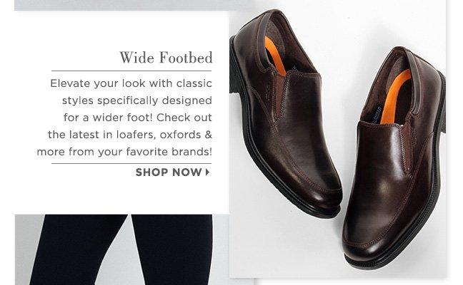 Shop Wide Shoes