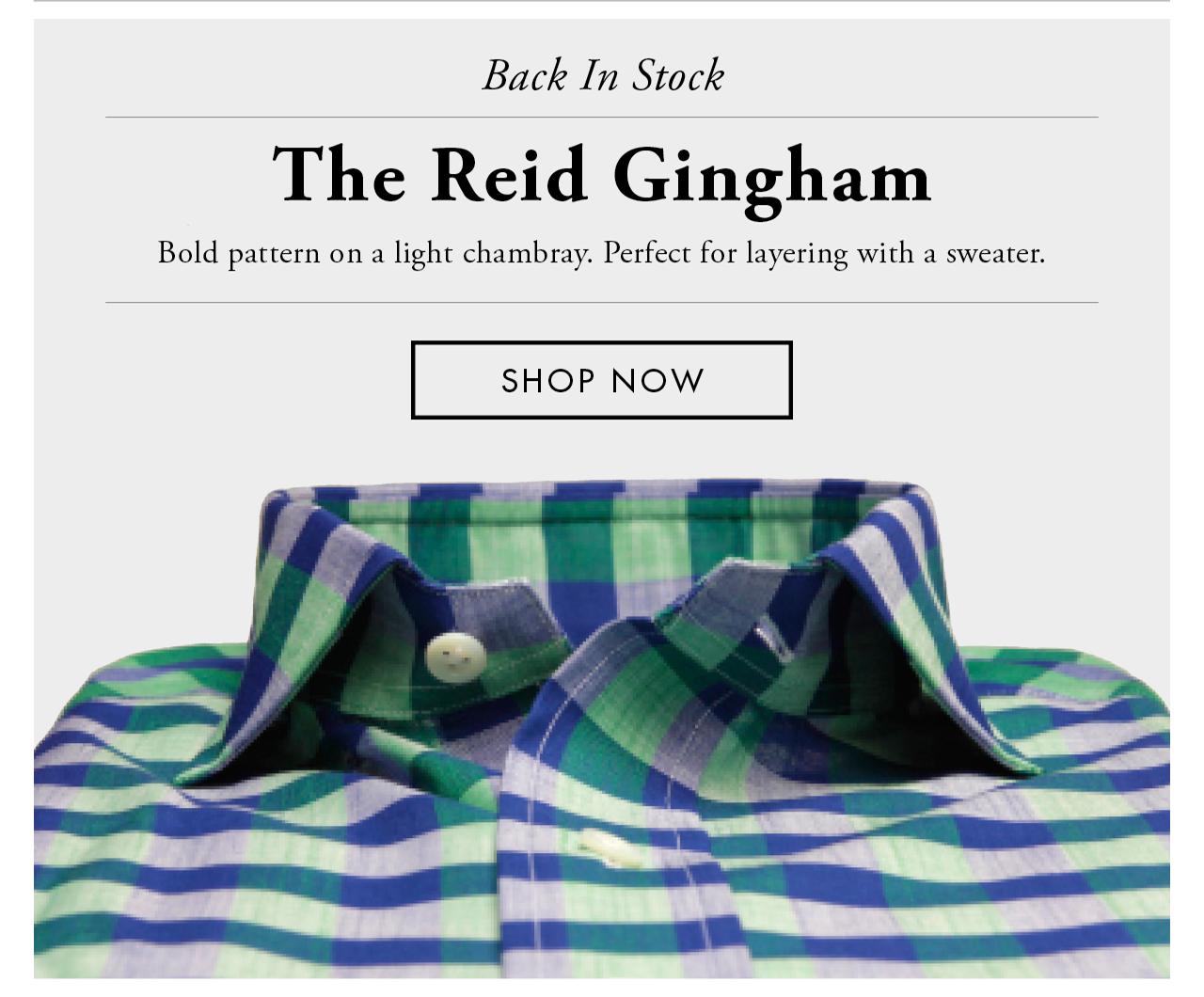Reid Gingham