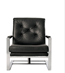 T-BACK LOUNGE CHAIR Designed by Milo Baughman for Thayer Coggin