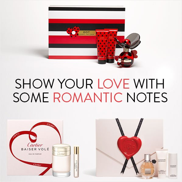 SHOW YOUR LOVE WITH SOME ROMANTIC NOTES