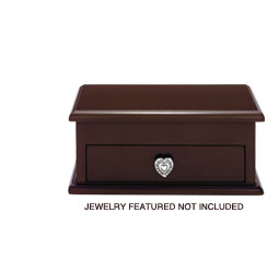 Jewelry featured not included