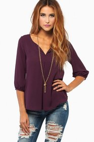 Ornate Folds Blouse 25