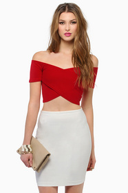 Zip Me Up Zag Crop Top 28