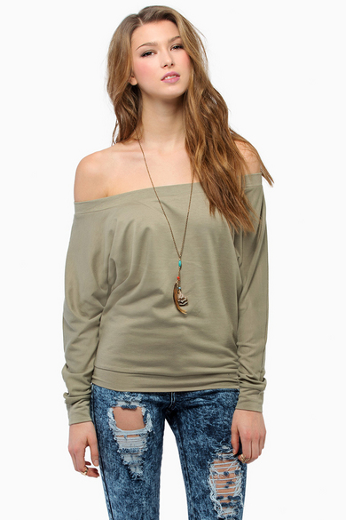 Layla Off Shoulder Sweater 33