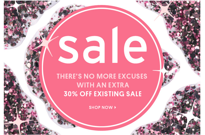30% OFF EXISTING SALE - Shop Now