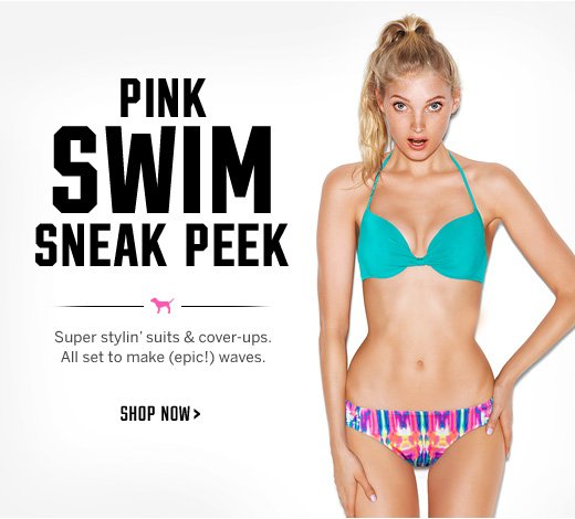 PINK Swim Sneak Peek