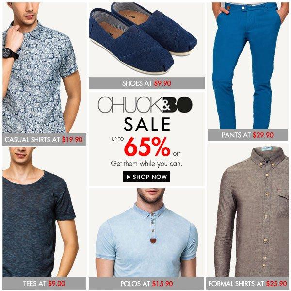 The Great Chuck&Bo Sale!