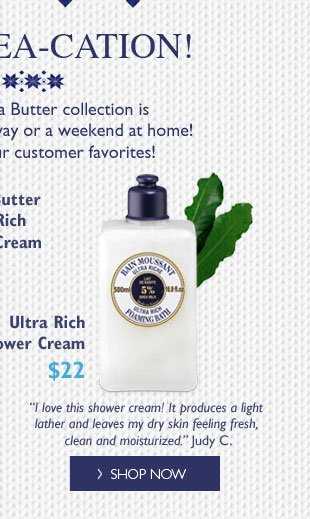 Ultra Rich Shower Cream