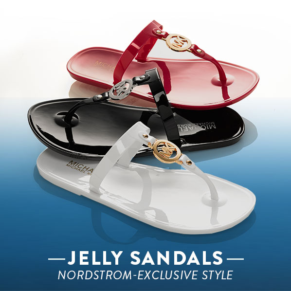 JELLY SANDALS - NORDSTROM-EXCLUSIVE STYLE