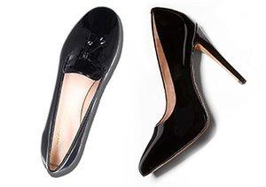 Best of Black: Flats & Heels
