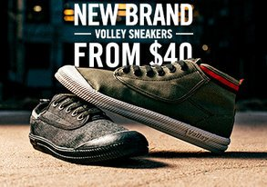 Shop NEW BRAND: Volley Sneakers from $40