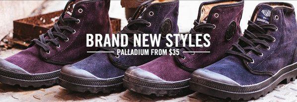 Shop Palladium: NEW Rugged-Sole Boots