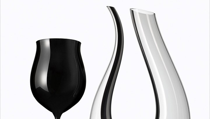 Gorgeous glassware: Shop decanters, wine glasses and more now.