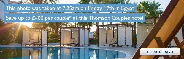 Thomson holidays