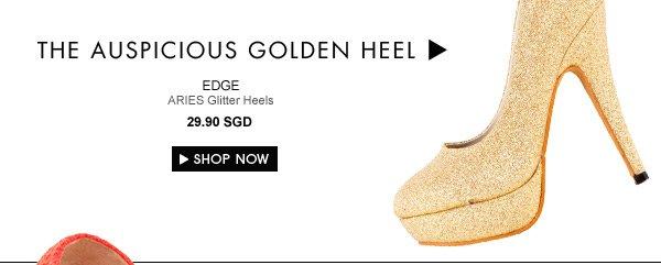 EDGE ARIES Glitter Heels