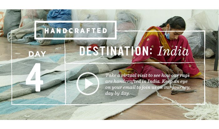 Handcrafted, Day 4, Destination: India