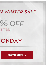End of Season Sale Men