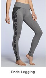 Ende Legging Heather Grey