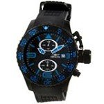 Invicta 11779 Men's Corduba Black Dial Rubber Strap Chronograph Watch
