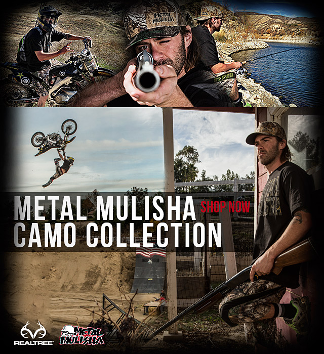 Metal Mulisha Realtree Camo