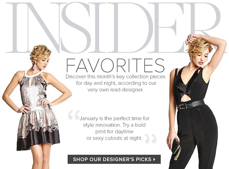 Shop Our Designers Picks