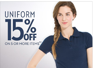 Shop 15% Off Uniform