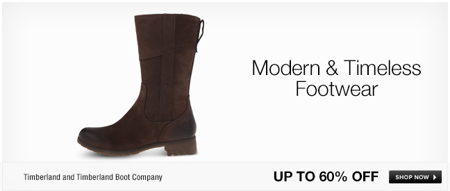 Modern and Timeless Footwear