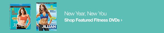 New Year, New You - Shop Featured Fitness DVDs