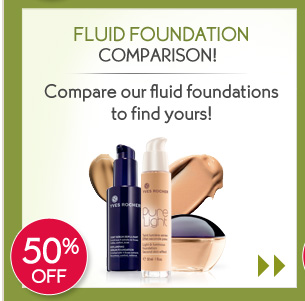 FLUID FOUNDATION COMPARISON!