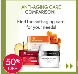 ANTI-AGING CARE COMPARISON!
