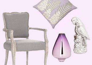 Color Story: Lavender & Grey