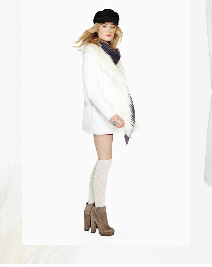 Whether the last of the winter chill in our warmest coats, sweaters, scarves and boots.