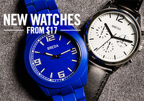 Shop NEW Breda Watches & More from $17