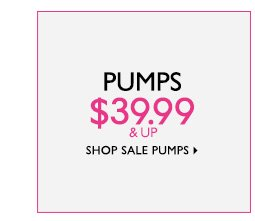 Shop Sale Pumps