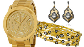Gold Watches and Jewelry