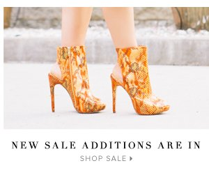 New Sale Additions Are In - - Shop Sale: