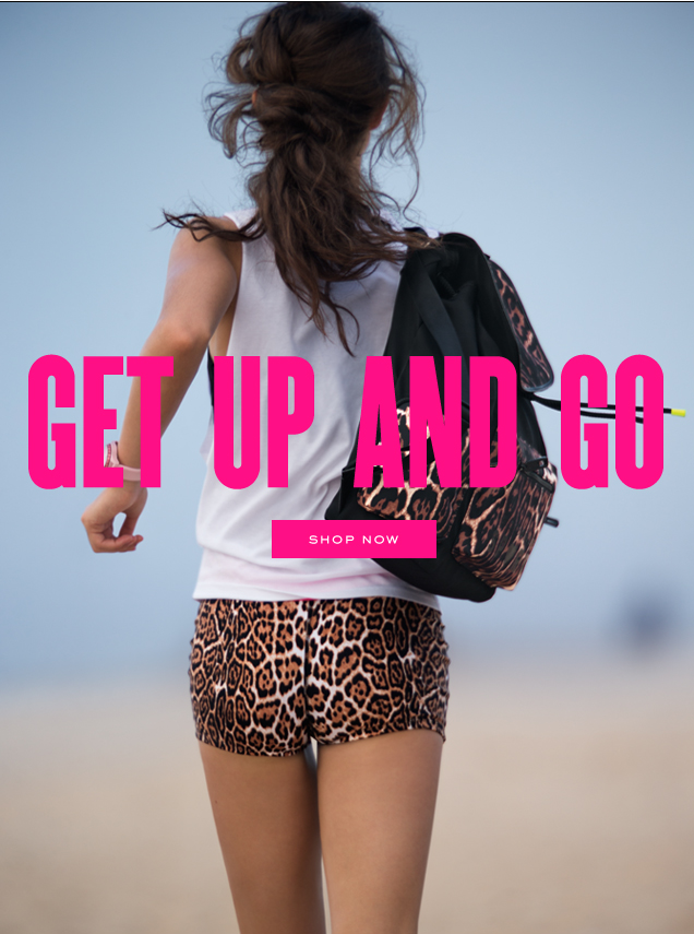 Get up and go. SHOP NOW.