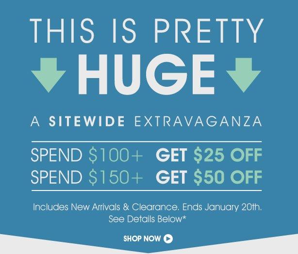 Sitewide Sale Extravaganza