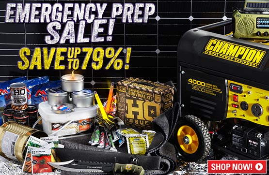 Emergency Preparedness... Save Up To 79%!