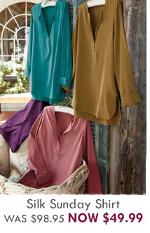 Silk Sunday Shirt